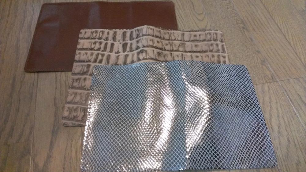 本革製ブックカバー